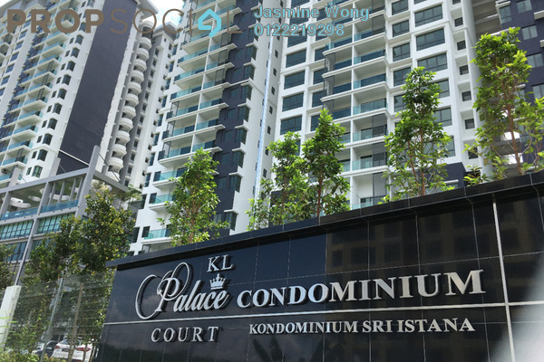 Condominium For Rent in KL Palace Court, Kuchai Lama Leasehold Semi Furnished 3R/2B 1.9k