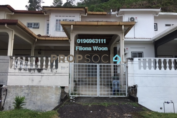 Terrace For Sale in Taman Bunga Raya, Bukit Beruang Leasehold Unfurnished 4R/3B 338k