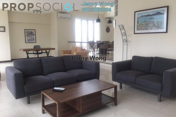 Duplex For Rent in Seri Bukit Ceylon, Bukit Ceylon Freehold Fully Furnished 3R/4B 10k