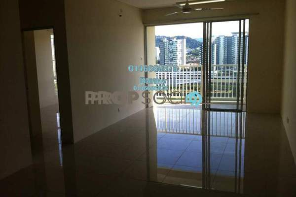 Condominium For Rent in Platinum Lake PV16, Setapak Freehold Semi Furnished 4R/2B 1.8k