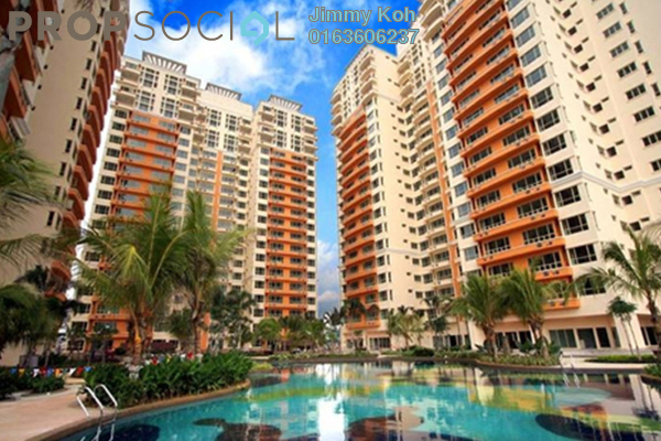 Condominium For Rent in East Lake Residence, Seri Kembangan Freehold Fully Furnished 3R/2B 1.95k