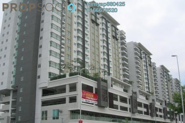 Condominium For Rent in First Residence, Kepong Leasehold Semi Furnished 3R/2B 1.8k