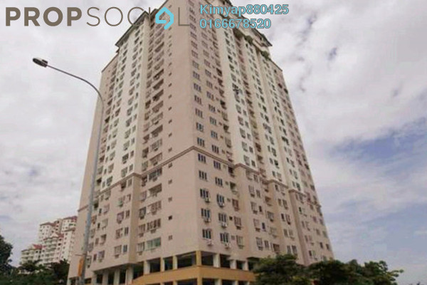 For Sale Condominium at Pelangi Indah, Jalan Ipoh Freehold Unfurnished 3R/2B 345k
