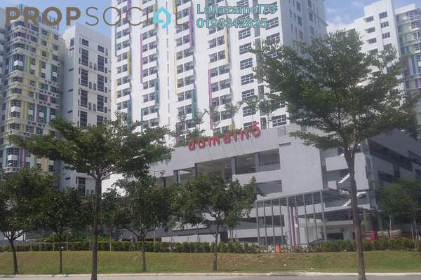 Apartment For Rent in The Domain, Cyberjaya Freehold Semi Furnished 1R/1B 1.6k