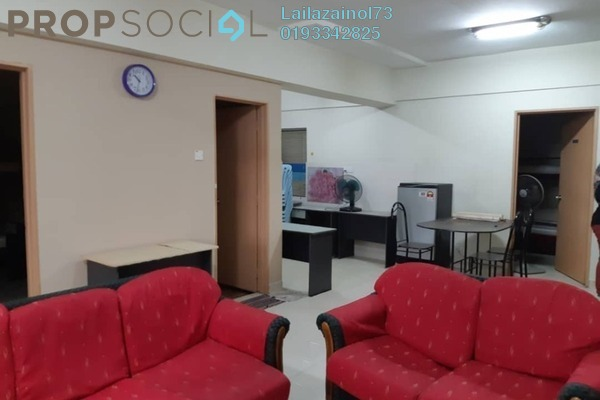 Apartment For Rent in Persanda 3 Apartment, Shah Alam Freehold Semi Furnished 3R/2B 2k