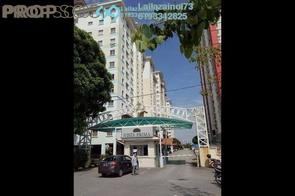 For Rent Condominium at Vista Prima, Puchong Freehold Semi Furnished 3R/2B 1.4k