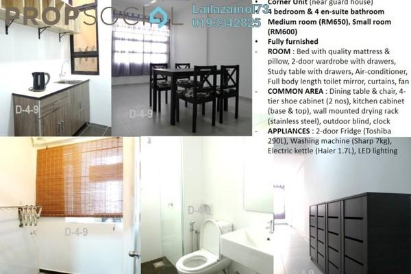 For Rent Condominium at De Centrum Unipark Condominium, Kajang Freehold Fully Furnished 4R/4B 650translationmissing:en.pricing.unit