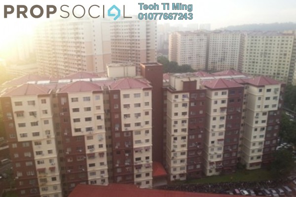 For Sale Condominium at Cemara Apartment, Bandar Sri Permaisuri Leasehold Semi Furnished 3R/2B 348k