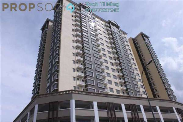 Condominium For Sale in 1 Petaling, Sungai Besi Leasehold Semi Furnished 3R/2B 390k