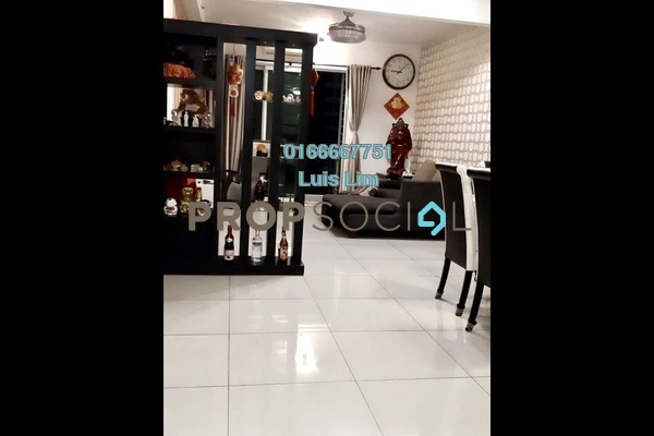 Apartment For Sale in Austin Suites, Tebrau Freehold Semi Furnished 3R/2B 550k