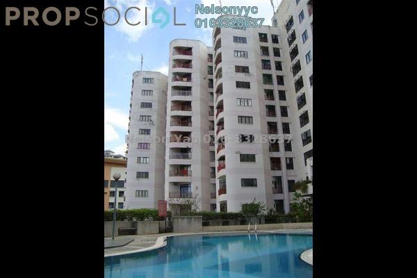 Condominium For Sale in Indah Villa, Bandar Sunway Leasehold Fully Furnished 3R/2B 580k