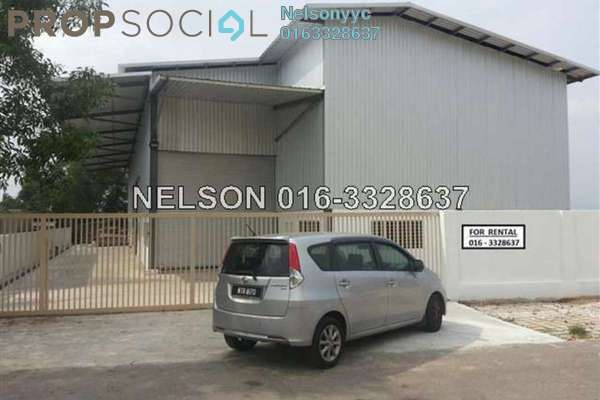Factory For Sale in Subang Permata, Subang Leasehold Unfurnished 0R/1B 3.8m