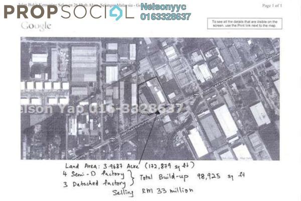 Factory For Sale in Mutiara Bukit Kemuning, Kota Kemuning Freehold Semi Furnished 0R/1B 40m