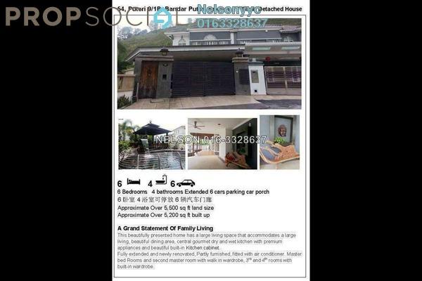Semi-Detached For Sale in Puteri 9, Bandar Puteri Puchong Freehold Semi Furnished 5R/4B 3.5m