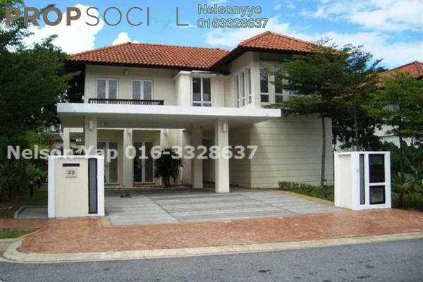 Bungalow For Rent in Seri Beringin, Damansara Heights Freehold Semi Furnished 4R/4B 18k