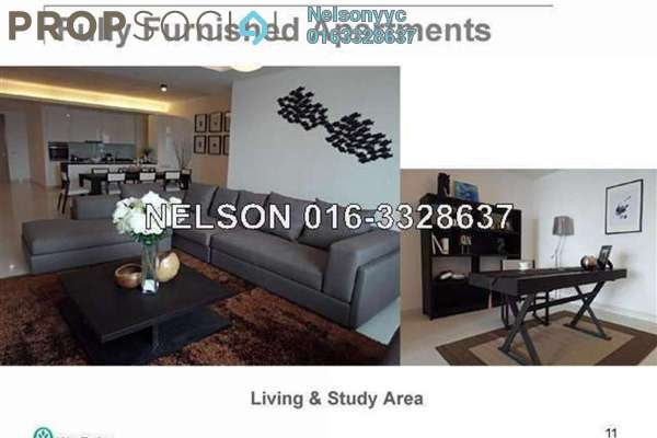 Condominium For Rent in Verticas Residensi, Bukit Ceylon Freehold Fully Furnished 2R/2B 6.3k