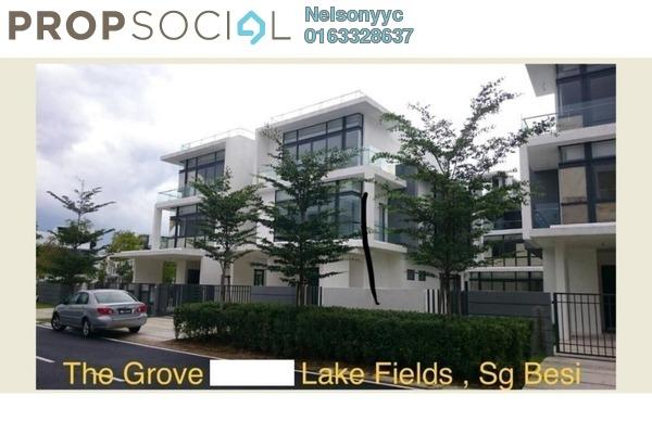 Semi-Detached For Sale in Grove, Sungai Besi Leasehold Semi Furnished 5R/5B 2.8m