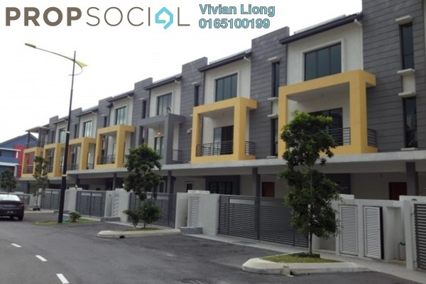 Terrace For Sale in 327 Persiaran Ritchie, Ampang Hilir Freehold Unfurnished 5R/4B 725k