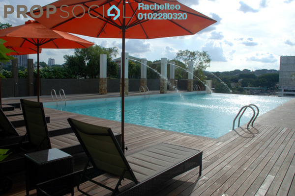 Serviced Residence For Sale in Gaya Bangsar, Bangsar Leasehold Fully Furnished 1R/1B 700k