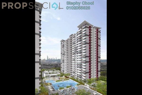 Condominium For Sale in Taman Bukit Cheras, Cheras Freehold Fully Furnished 3R/2B 688k
