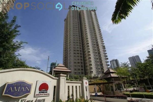 Condominium For Rent in Mont Kiara Aman, Mont Kiara Freehold Semi Furnished 4R/4B 7.5k