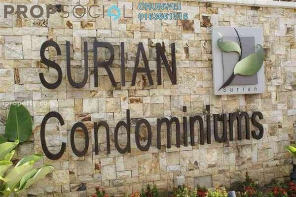 Condominium For Rent in Surian Condominiums, Mutiara Damansara Freehold Fully Furnished 4R/3B 4.3k