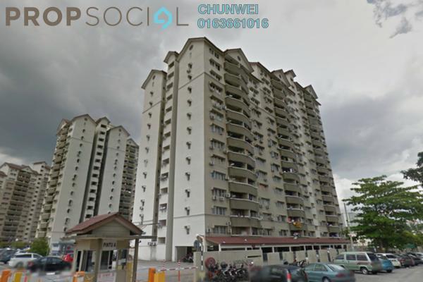 Condominium For Rent in Sentul Utama Condominium, Sentul Leasehold Fully Furnished 3R/2B 1.5k