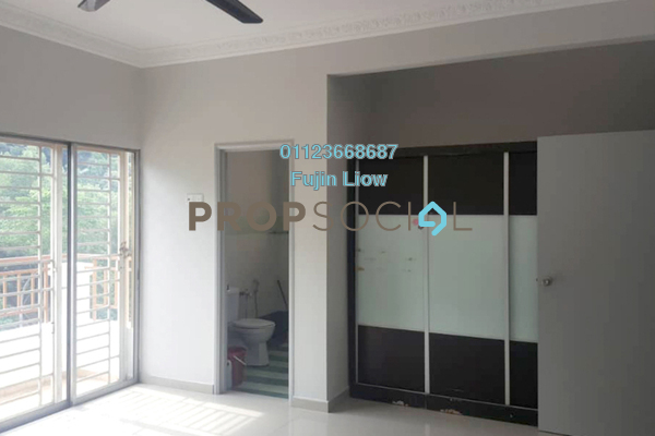 Townhouse For Rent in Gardenville Townvilla, Selayang Heights Freehold semi_furnished 3R/2B 1.3k