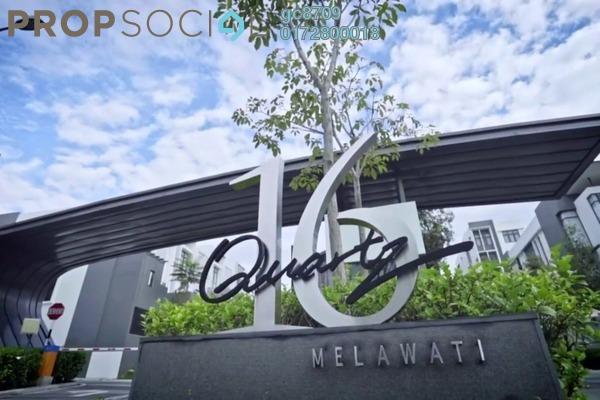 Condominium For Rent in 16 Quartz, Melawati Freehold Semi Furnished 4R/4B 2.5k