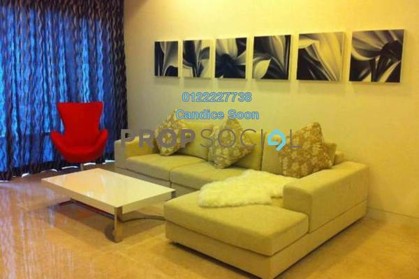 For Rent Condominium at Pavilion Residences, Bukit Bintang Freehold Fully Furnished 2R/2B 7k