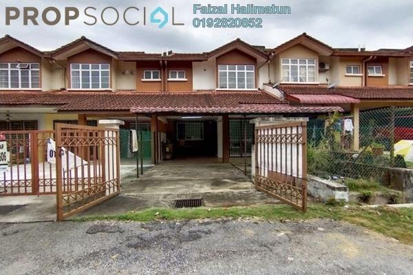 Terrace For Sale in Ixora Residences, Bandar Seri Coalfields Freehold Semi Furnished 4R/3B 405k
