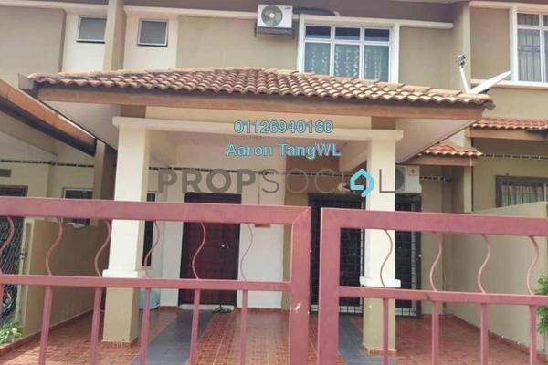 Terrace For Rent in Saujana Rawang, Rawang Freehold Fully Furnished 4R/3B 1.2k