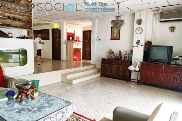 Bungalow For Sale in Taman Shanghai, Old Klang Road Freehold Semi Furnished 6R/5B 2.85m