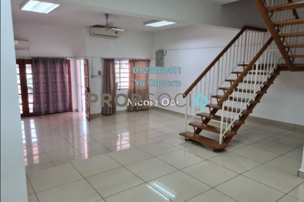 For Rent Terrace at Taman Connaught, Cheras Freehold Semi Furnished 4R/3B 2.3k