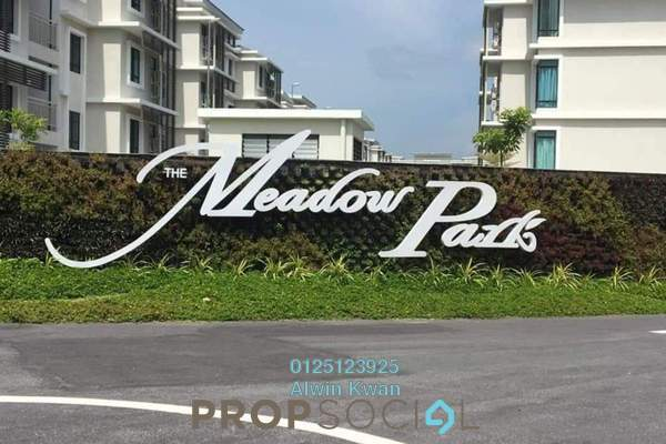 Townhouse For Sale in The Meadow Park, Kampar Freehold Fully Furnished 4R/4B 330k