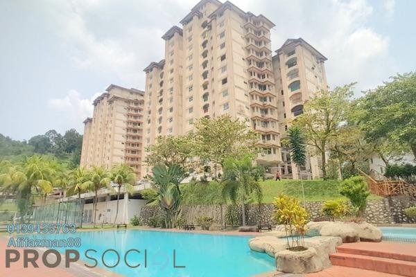 Condominium For Sale in Villa Duta, Bukit Antarabangsa Freehold Semi Furnished 3R/2B 280k
