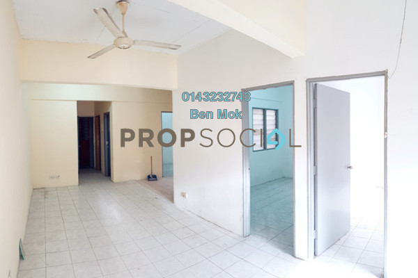 Apartment For Sale in Impiana Apartment, Kepong Leasehold Unfurnished 3R/2B 100k