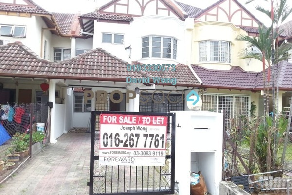 For Sale Terrace at USJ 11, UEP Subang Jaya Freehold Semi Furnished 4R/3B 760k