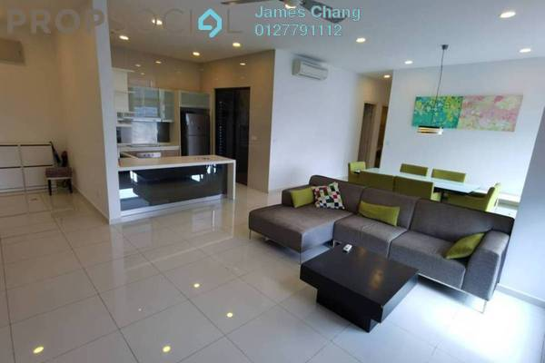 Condominium For Rent in Mirage Residence, KLCC Freehold Fully Furnished 3R/3B 4.5k