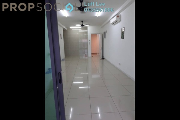 For Sale Condominium at Fortune Perdana Lakeside, Kepong Freehold Semi Furnished 4R/2B 550k