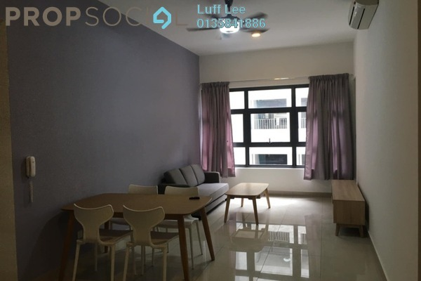 For Rent Condominium at Lakeville Residence, Jalan Ipoh Freehold Fully Furnished 3R/2B 1.8k
