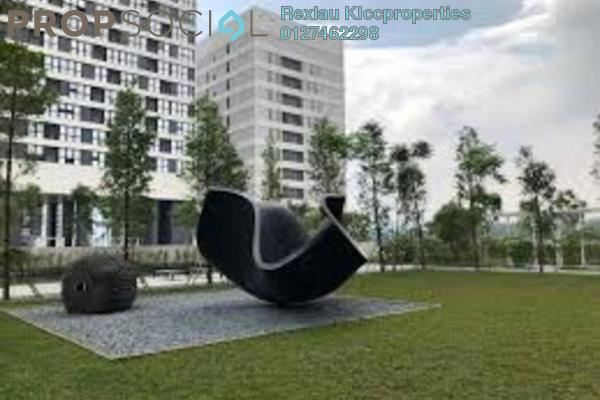 Serviced Residence For Sale in SqWhere, Sungai Buloh Freehold Semi Furnished 3R/3B 549k