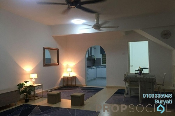Terrace For Sale in Taman Puncak Kinrara, Bandar Kinrara Freehold Semi Furnished 4R/3B 550k