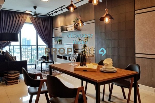 Condominium For Rent in KL Traders Square, Kuala Lumpur Freehold Fully Furnished 4R/2B 2.5k