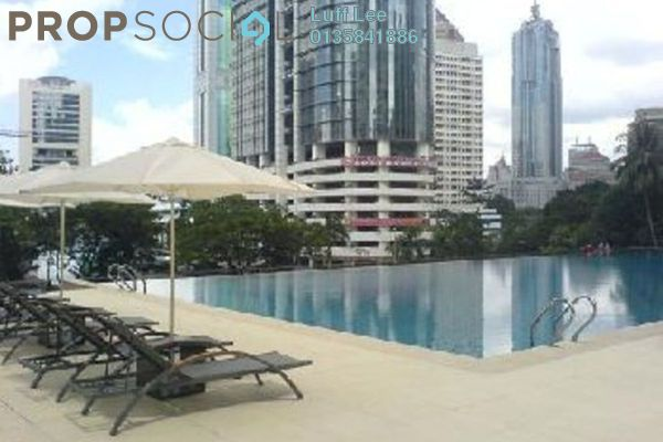 For Rent Condominium at Marc Service Residence, KLCC Freehold Fully Furnished 2R/2B 4k