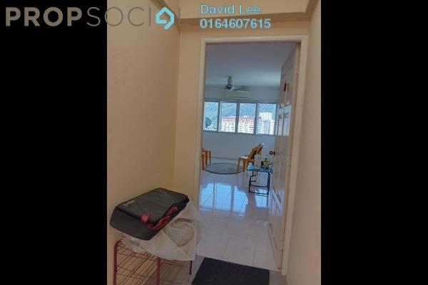For Sale Apartment at Taman Hui Aun, Air Itam Freehold Semi Furnished 3R/2B 360k