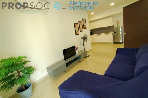 Condominium For Sale in Eclipse Residence @ Pan'gaea, Cyberjaya Freehold Fully Furnished 3R/2B 695k