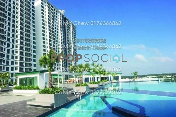 Serviced Residence For Sale in D'Secret Garden, Johor Bahru Freehold Unfurnished 3R/3B 313k