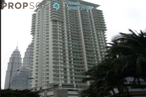For Sale Condominium at Binjai Residency, KLCC Freehold Semi Furnished 5R/4B 1.88m