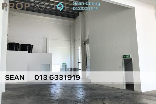 Factory For Rent in Bukit Kemuning Industrial Park, Kota Kemuning Freehold Semi Furnished 0R/3B 12k